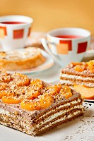 Delicious walnut cake Walnut cake