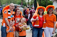 Blackpool FC supporters, Wembley Stadium, London, England
