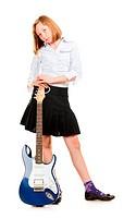 Teen Girl Rockstar