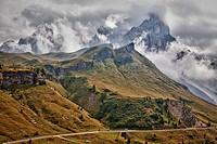 Dramatic Dolomites Italy
