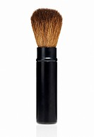 Cosmetics Brush With Brown Bristles