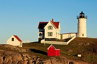 Cape Neddick Lighthouse is a lighthouse in Cape Neddick, York, Maine  In 1874 Congress appropriated $15,000 to build a light station at the 'Nubble' a...