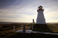 Baccaro Point Lighthouse in Nova Scotia Canada