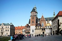 Wawel Cathedral in Krakow, Poland, October 26, 2012 CTK Photo/Libor Sojka