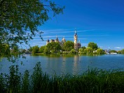 Schwerin Castle, Mecklenburg_Western Pomerania, Germany