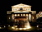 Russian Federation, Moscow, Bolshoi Ballet theater