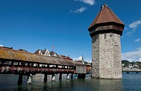 Chapel Bridge, Kapellbrucke, Lucerne