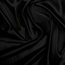 Black piece of satin cloth