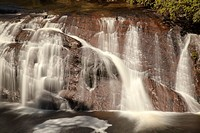 Coal Creek falls, Ranunga, West Coast