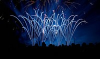 Fireworks, Erfurt, Germany