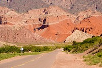 Road, Quebrada de las Conchas, Salta Province, Argentina