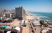 Herod Hotel, Gordon Beach, Hayarkon Street, Tel Aviv, Israel, Middle East