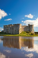 Carew Castle, Pembrokeshire, Wales, United Kingdom, Europe