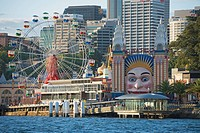 Luna Park, Sydney, New South Wales, Australia, Pacific