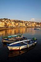 Aci Trezza, the town in the Commune of Aci Castello, Sicily, Italy
