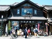 Japanese style restaurant at the old town Kawagoe, Japan