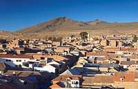 View of Potosi, UNESCO World Heritage Site, Bolivia, South America