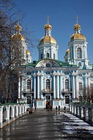 St. Nikolas´s Cathedral, St. Petersburg, Russia, Europe