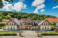 Bath house in the spa town of Bad Suderode The bath house is located in the spa gardens Bad Suderode is a district of the town of Quedlinburg in the H...