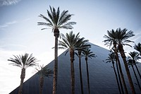 Glass pyramid, Luxor Las Vegas hotel and casino, Las Vegas