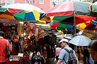 Wanchai market, Wanchai, Hong Kong