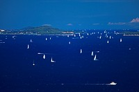 Sailing in Adriatic Sea,