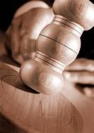 Judge Striking Gavel