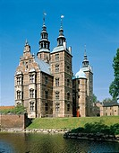 South facade, Rosenborg Castle, Copenhagen, built by Christian IV, 1606. Denmark, 17th century.