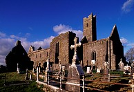 Franciscan Friary, Quin, Ennis. Ireland, 14th century.