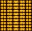Golden grunge mosaic