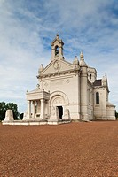 France, Nord-Pas de Calais Region, Pas de Calais Department, Souchez, Notre Dame de Lorette, World War One French War Memorial, chapel exterior