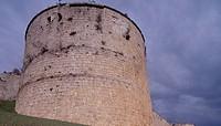 View of Berlanga de Duero Castle, Castilla and Leon. Spain, 15th-16th century.