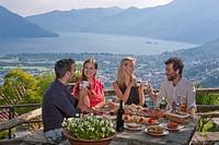 Food, Grotto al Ritrovo, Grotto, Lago Maggiore, Locarno, Ascona, canton, TI, Ticino, South Switzerland, couple, Couples, lake, lakes, food, Food, cate...