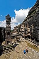 Ellora Caves ; kailash  ; Aurangabad ; Maharashtra ; India