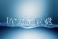 Water, computer artwork.