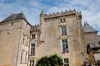 the castle of Vayres in Gironde