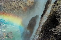 Rainbow at Jog Falls , Karnataka , India