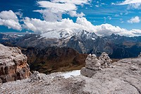 Dolomites Cairns