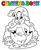 Coloring book with Easter theme 5