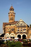 Crawford market or mahatma jyotiba phule market ; Mumbai Bombay ; Maharashtra ; India