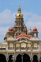 Maharaja´s palace or Mysore palace built in 1912 ; Mysore ; Karnataka ; India