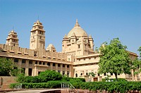 A Palace built an Edwardian style English architecture by an Indian Maharaja , India