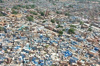 View of a jodhpur city , Jodhpur , Rajasthan , India