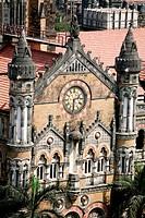 Chhatrapati Shivaji Terminus (CST) ; Bombay now Mumbai ; Maharashtra ; India