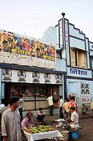 Nishat cinema hall , Maulana Shaukatali road , Grant road , Bombay now Mumbai , Maharashtra , India