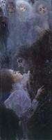 Love, 1895, by Gustav Klimt (1862-1918).  Vienna, Historisches Museum Der Stadt Wien (History Museum)
