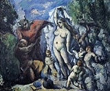 The Temptation of St Anthony, 1875, by Paul Cezanne (1839-1906).  Paris, Musée D'Orsay (Art Gallery)