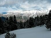 snow mountain Pyrenees