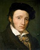 Portrait of Federico Moja, 1820, by Vitale Sala (1803-1835), oil on canvas, 40x35 cm.  Milan, Civiche Raccolte D'Arte Civico, Museo D'Arte Contemporan...