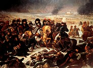 Napoleon on the Eylau Battlefield, October 1807, painting by Jean-Antoine Gros (1725-after 1786), 1808, oil on canvas, 521x784 cm. Napoleonic Wars, Ru...